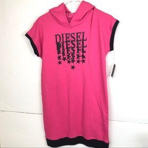 Diesel shirt Dress Athletic hooded